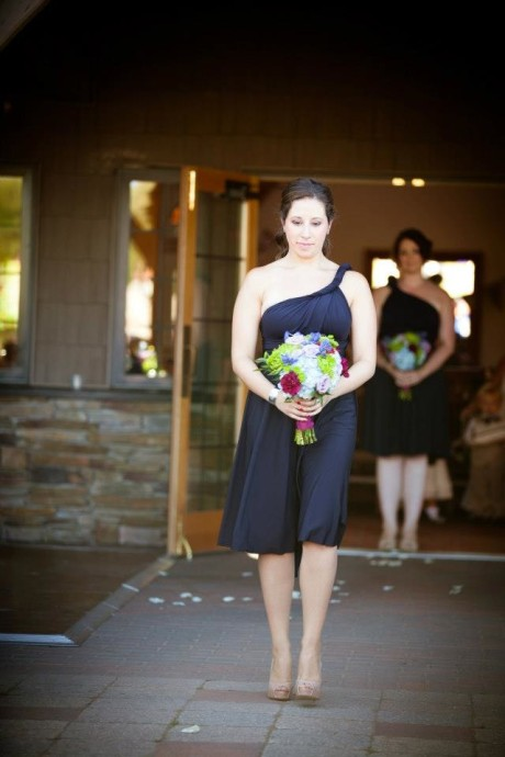 Brette-Ashley Photography- Bridesmaid in Ceremony Processional