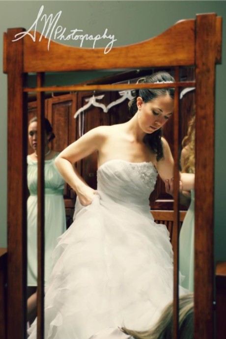 Daniel Mohr Photography- Bridal Mirror