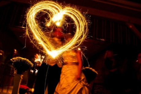 Daniel Mohr Photography- Sparkler Heart