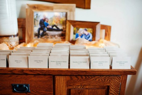 Lydia Maybee Photography- Escort Cards