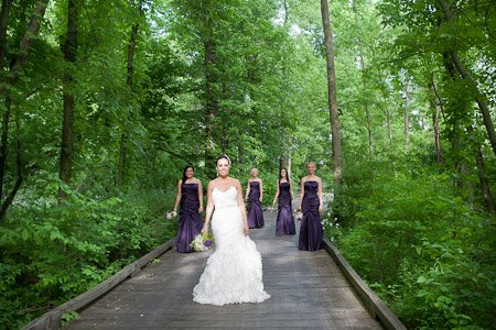 Sara Heidinger Photography- Bridal Party on the Boardwalk