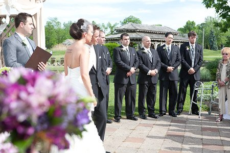Sara Heidinger Photography- Ceremony Groomsmen